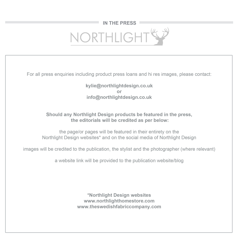 Editorial credits Northlight Design